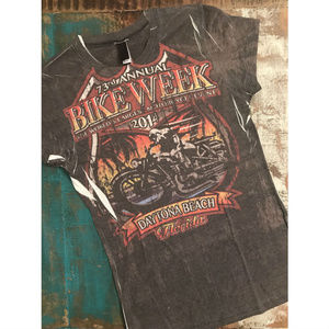 Daytona Bike Week 73rd Annual 2014 Graphic T-Shirt